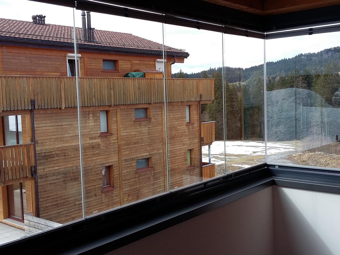 Protection balcon en verre
